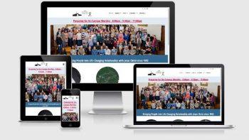 Portfolio view of Lanse Free Church website at https://lansefree.org.